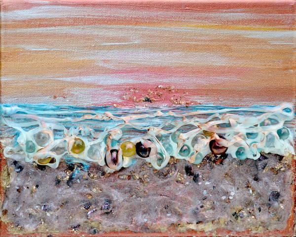 Painting - Abstract Sunset by Regina Valluzzi