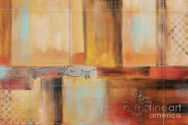 Wall Art - Painting - Abstract Surrender-a by Jean Plout