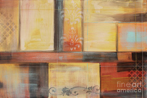 Wall Art - Painting - Abstract Surrender-b by Jean Plout