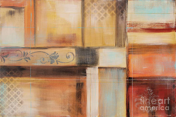 Wall Art - Painting - Abstract Surrender-c by Jean Plout