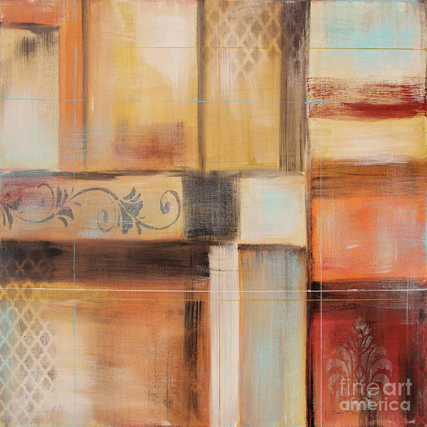 Wall Art - Painting - Abstract Surrender-f by Jean Plout
