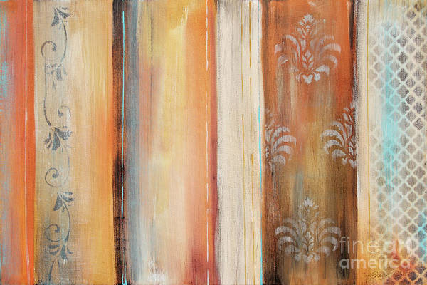 Wall Art - Painting - Abstract Surrender Stripes-a by Jean Plout