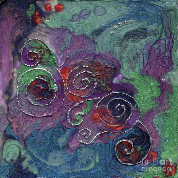 Wall Art - Painting - Abstract Swirls by Angel Ciesniarska
