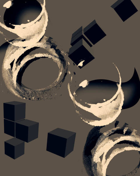 Wall Art - Digital Art - Abstract Three by Patricia Motley