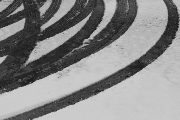 Nottingham Photograph - Abstract Tracks by Chris Dale