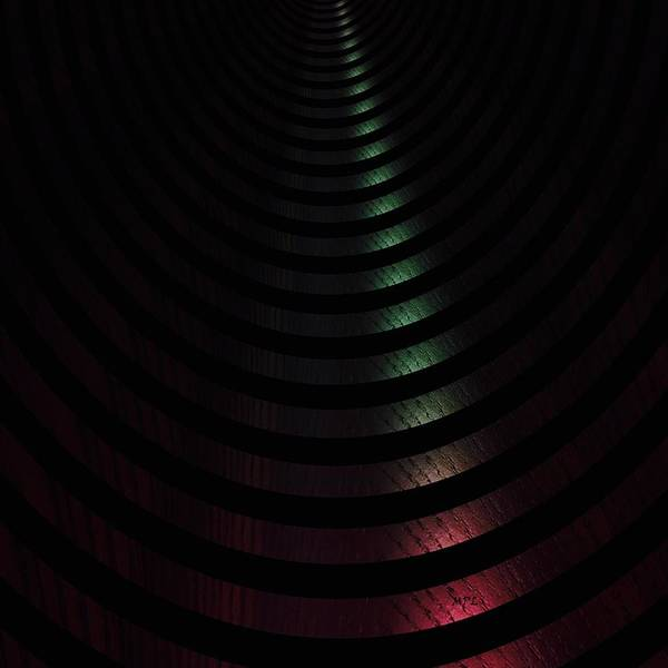 Photograph - Abstract Tunnel by Marian Palucci-Lonzetta