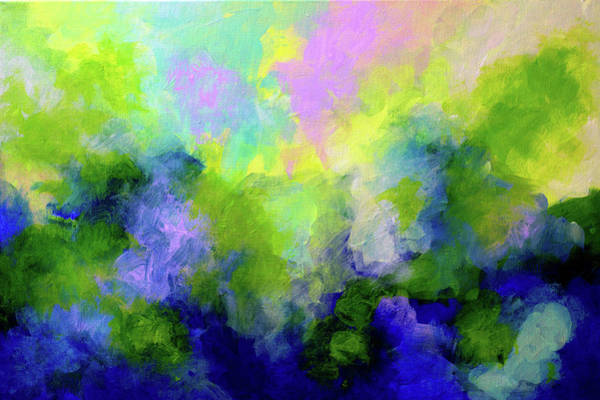 Wall Art - Painting - Abstract Vibrations  by John  Nolan