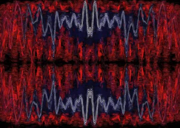 Digital Art - Abstract Visuals - Mystic Metamorphosis by Charmaine Zoe