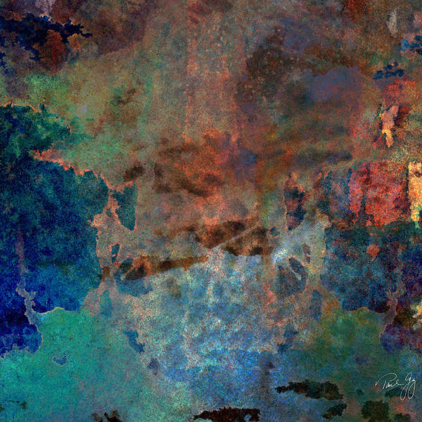 Abstract Wash 3 Art Print