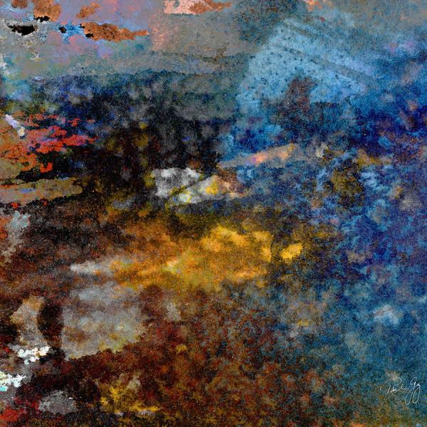 Mixed Media - Abstract Wash 4 by Paul Gaj