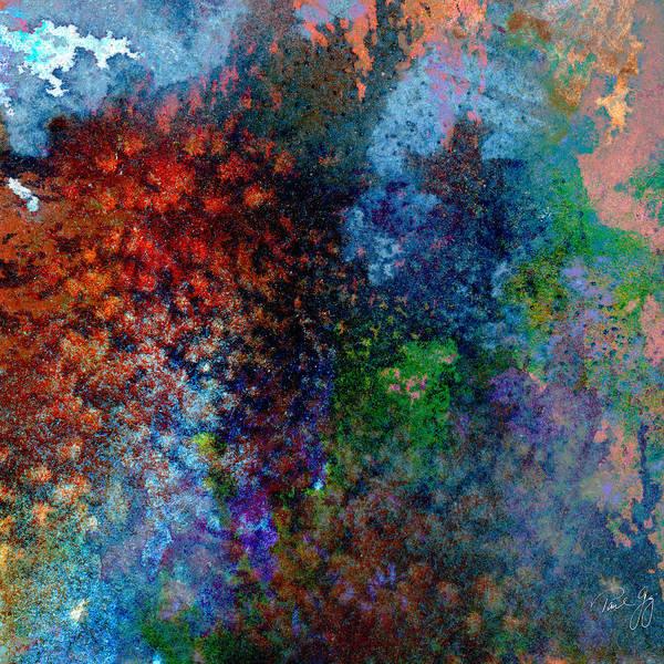 Mixed Media - Abstract Wash 5 by Paul Gaj