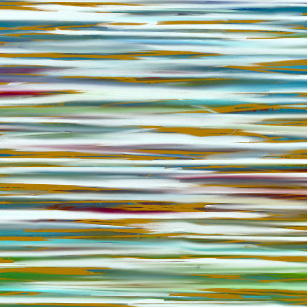 Wall Art - Painting - Abstract Water Reflection by Frank Tschakert