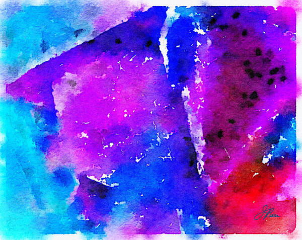 Painting - Abstract Watercolor by Joan Reese