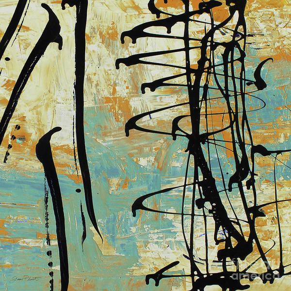 Wall Art - Painting - Abstract Whirlwind by Jean Plout