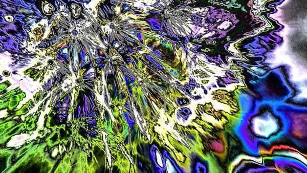 Digital Art - Abstract Wildflower 6 by Belinda Cox