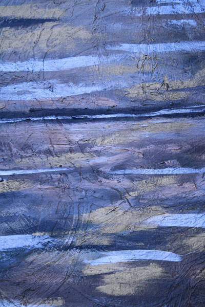 Wall Art - Painting - Abstract With Gold by Mikayla Ziegler