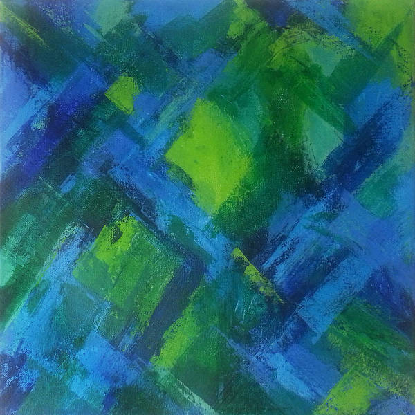 Irregular Painting - Abstract X by Kathleen Wong