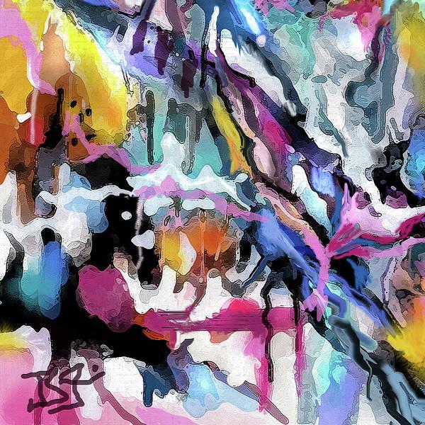 Digital Art - Abstract Xyz by Jean Batzell Fitzgerald