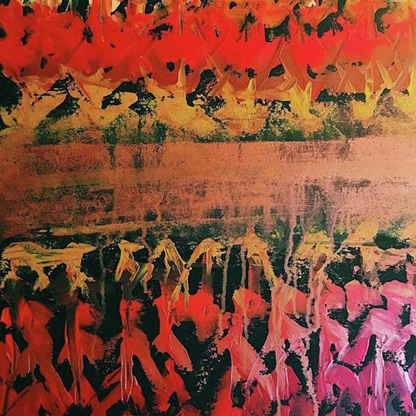 Red Painting - The Concept  by T Prosper Harris