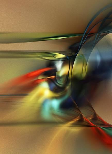 Wall Art - Digital Art - Abstraction 022023 by David Lane