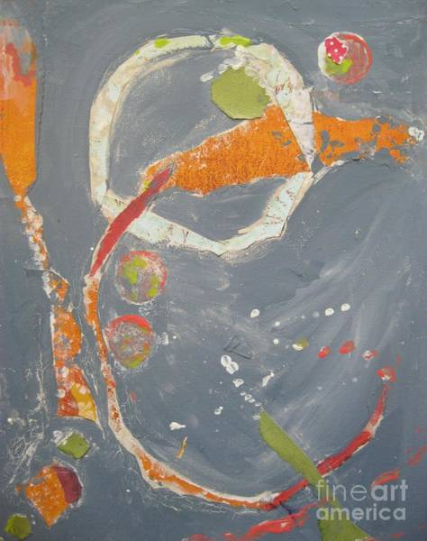 Painting - Abstraction #1 by Jacqui Hawk