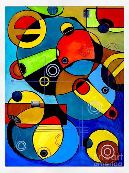 Computer Graphics Painting - Abstraction 3128 by Marek Lutek