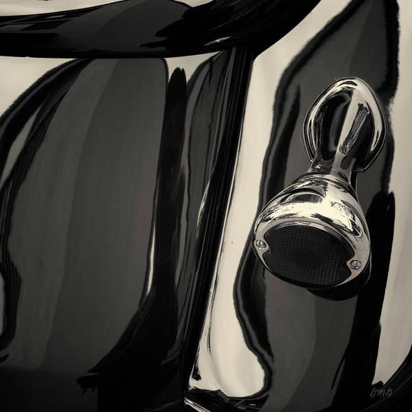Photograph - Abstraction Reflection Toned Sq - Vehicle  by David Gordon