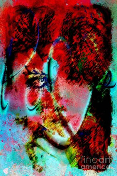 Painting - Abstractual She by Catherine Lott