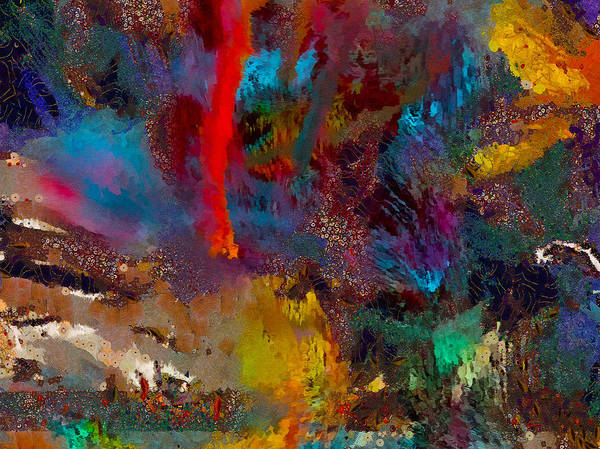 Wall Art - Painting - Abstrato 5 by Anderson Eduardo Oliveira