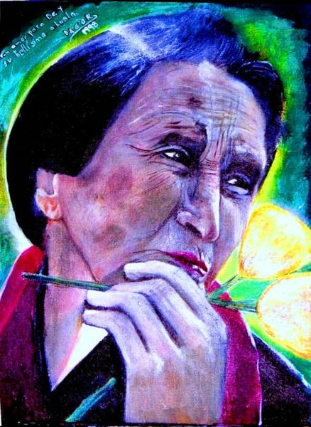 Wall Art - Painting - Abuelita De Do by Patricia Velasquez de Mera