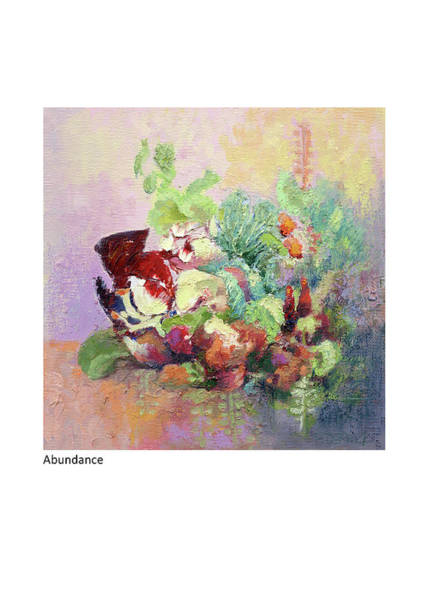 Painting - Abundance by Betsy Derrick