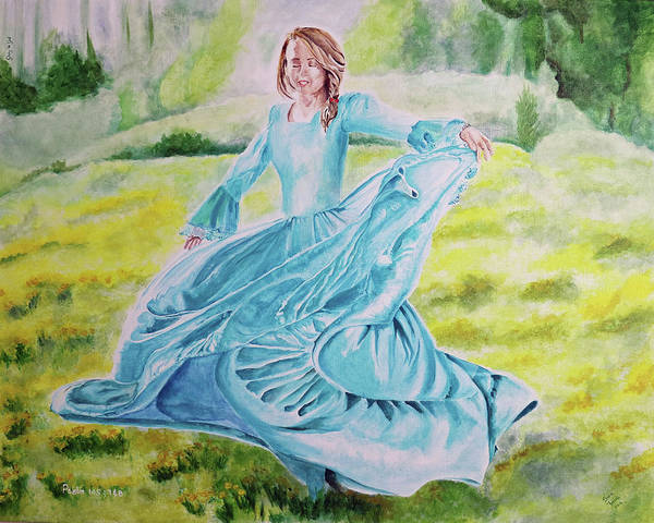 Plaits Painting - Abun'dance' by Sonia Farrell