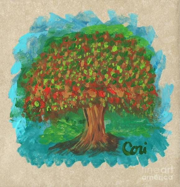 Painting - Abundant Tree by Corinne Carroll
