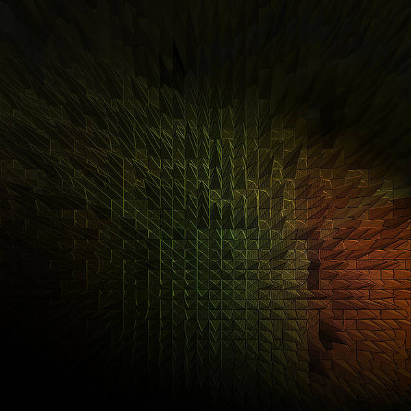 Digital Art - Abyss by Maria Reverberi