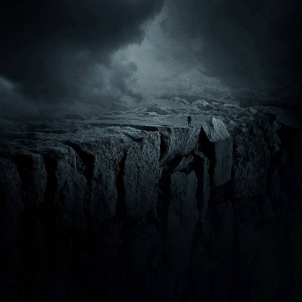 Wall Art - Digital Art - Abyss by Zoltan Toth
