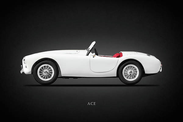 Shelby Cobra Photograph - Ac Ace 1959 by Mark Rogan