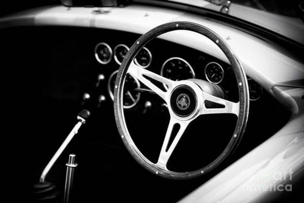Ford Motor Company Photograph - Ac Cobra Monochrome by Tim Gainey
