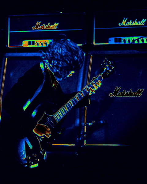 Photograph - Ac Dc Electrifies The Blues by Ben Upham