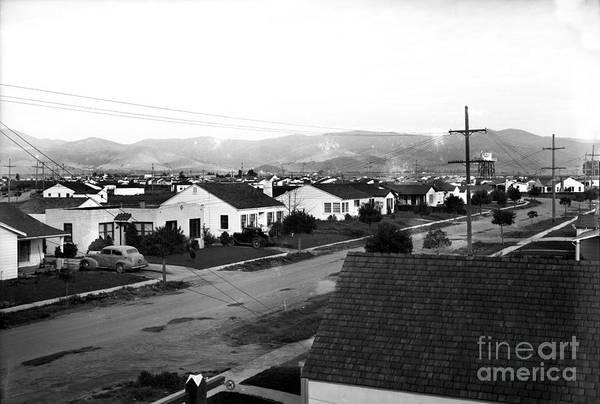 Photograph - Acacia Park Salinas Circa 1950 by California Views Archives Mr Pat Hathaway Archives