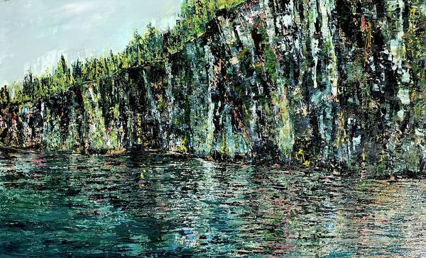 Wall Art - Painting - Acadia Blue by Julia S Powell