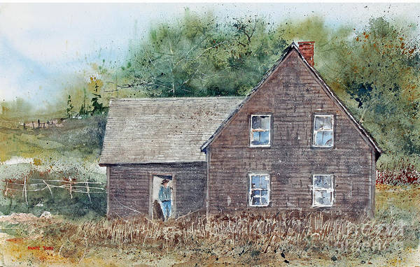 Painting - Acadia House by Monte Toon