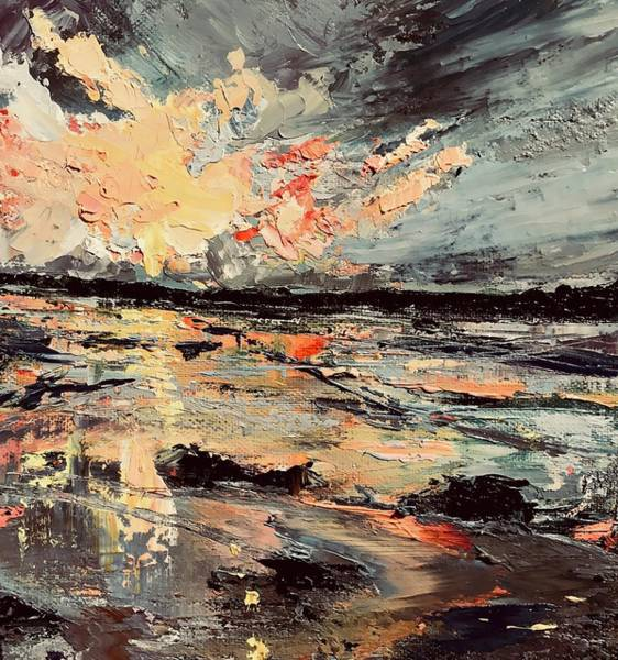 Wall Art - Painting - Acadia In My Mind  by Julia S Powell