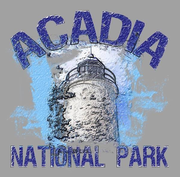 Wall Art - Digital Art - Acadia National Park by David G Paul