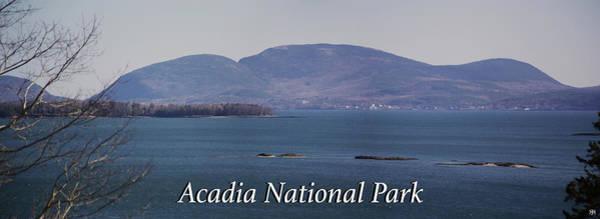 Photograph - Acadia National Park by John Meader