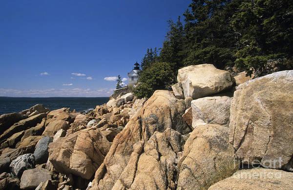 Photograph - Acadia National Park Maine - Bass Harbor Head Lighthouse by Erin Paul Donovan