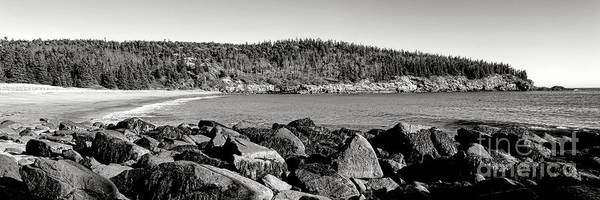 Wall Art - Photograph - Acadia National Park Sand Beach by Olivier Le Queinec