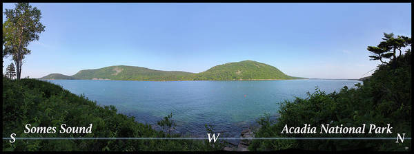Photograph - Acadia Somes Sound by John Meader