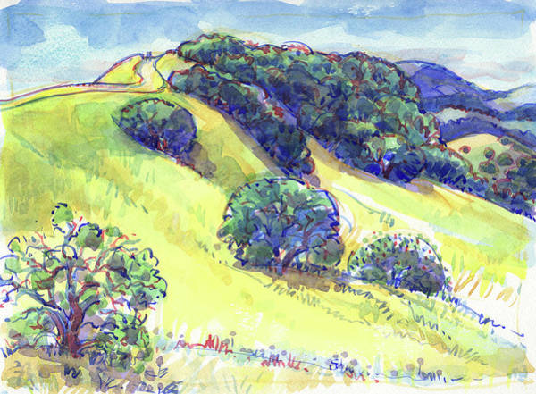Painting - Acalanes Ridge, Lafayette, Ca by Judith Kunzle