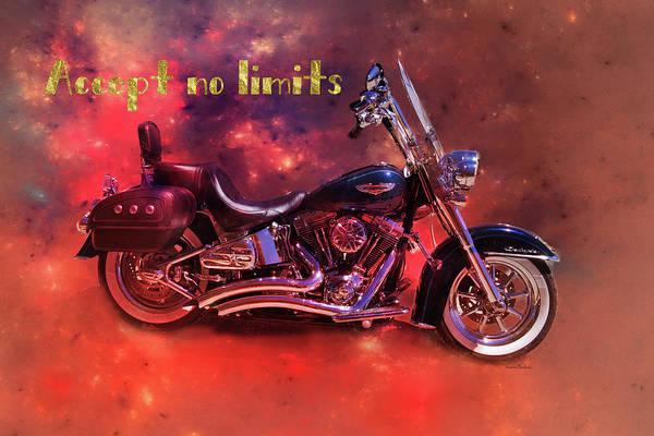Digital Art - Accept No Limits by Ramona Murdock