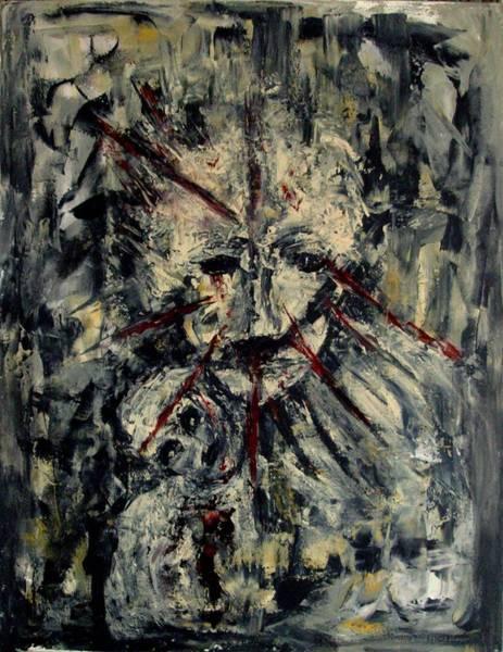 Painting - Acceptance Of Nothingness by Katerina Apostolakou
